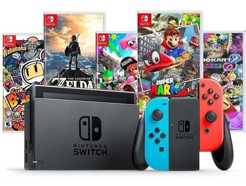 Nintendo Switch Mod Novo C\ 3 Jogos - Pode Retirar Sp