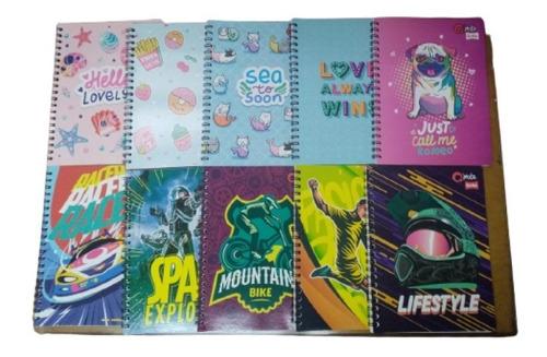 Cuadernos Argollados Grandes Paquete X 10