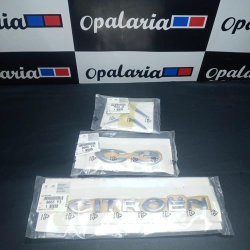 Kit Emblemas Citroen C3 7810 J1, 8665 Y3 E Y4
