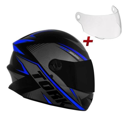 Capacete Moto Fechado R8 Protork Lançamento Viseira Brinde