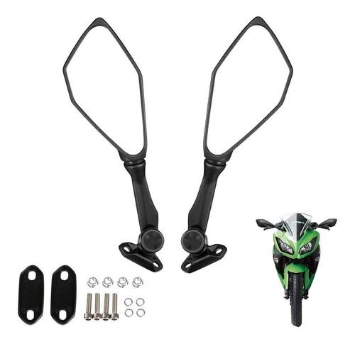 Espejos Abatibles Toda Moto Carenada Ninja Cbr Rs R15 Gixxer