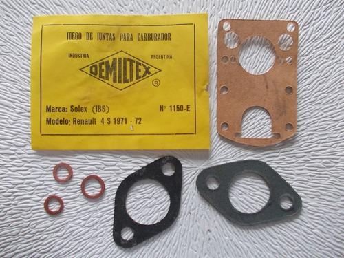 1150- Junta Carburador Demiltex Renault 4s 71/72 (otros)