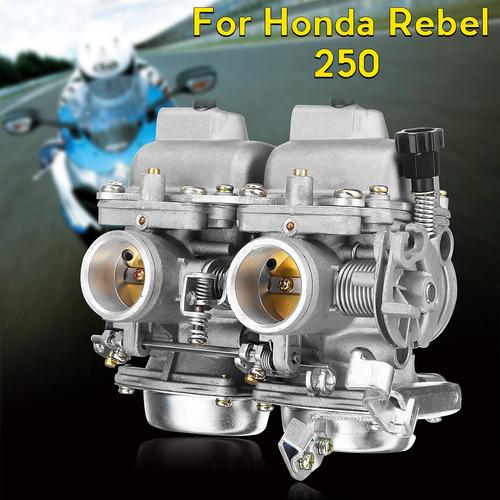 Carburador Doble Carburador Montaje Assy Para Honda Rebel Ca