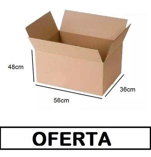 Caja Carton Embalaje Super Reforzada Mudanza 56x36x48