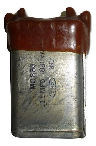 Capacitor En Aceite .15 M F X 880 V C A - U S A - Nuevo
