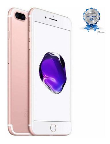 iPhone 7 Plus 128gb Original C/ Garantia E Nota - Vitrine