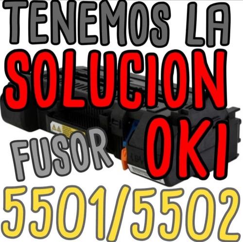 Fusor Oki Toshiba 5501 5502 527 477 Solucion De Atascos