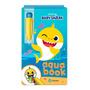 Aqua Book Baby Shark Livro Colorir Com Água
