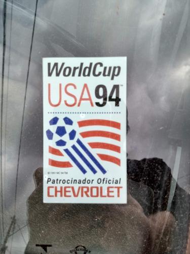 Adesivo Ano Chevrolet 94 Comemoração Copa Do Mundo Omega