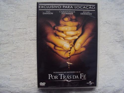 Dvd Por Tras Da Fé Ted Danson Christopher Plummer E5b4 Original