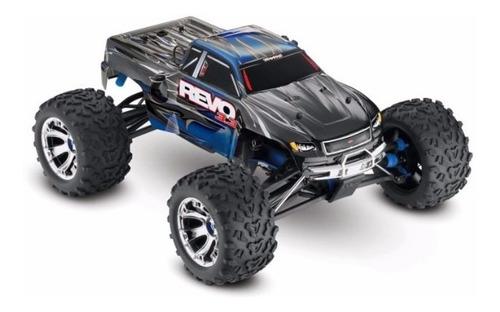 Automodelo Traxxas 1/10 Revo 3.3 4wd Nitro Truck + Brinde