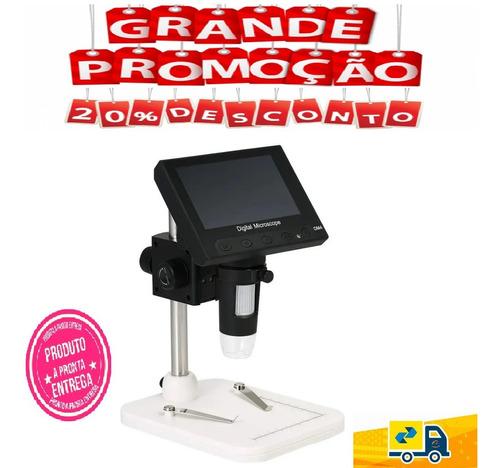 Microscópio Lupa Digital Dm4 Tela Lcd 4, 3 Xbox Playstation