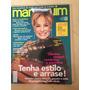 Revista Manequim 523 Susana Vieira Tricô Jeans Bolsas Z733