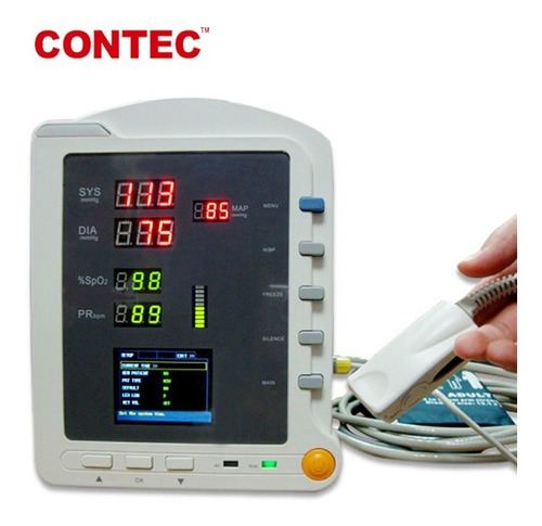 Monitor De Signos Vitales. Nibp - Spo2 - Pulso