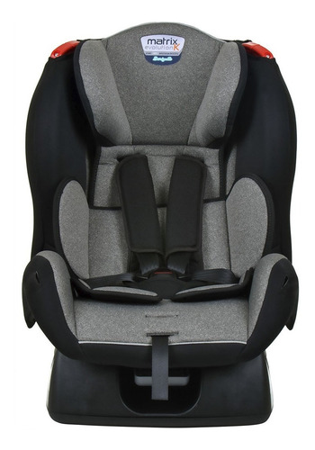 Cadeira Infantil Para Carro Burigotto Matrix Evolution K Mesclado Cinza