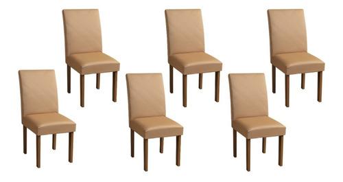 Kit 6 Capas Para Cadeira Jantar Com Elástico #qualidade
