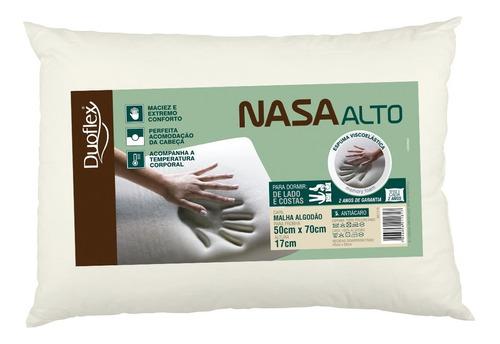 Travesseiro Nasa Alto 17 Cm Viscoelastico - Duoflex