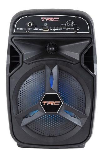 Caixa De Som Bluetooth Amplificada Trc 5510 100w
