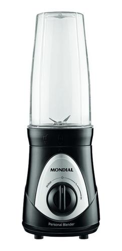 Licuadora Portátil Mondial Personal Blender Dg-01 750ml Negra Y Plata 220v