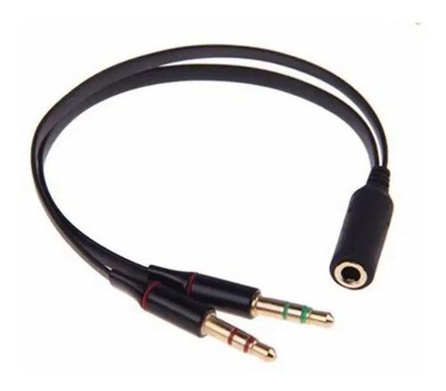 Cable Splitter  Mini Plug 3,5mm Microfono Auricular Pc Nuevo