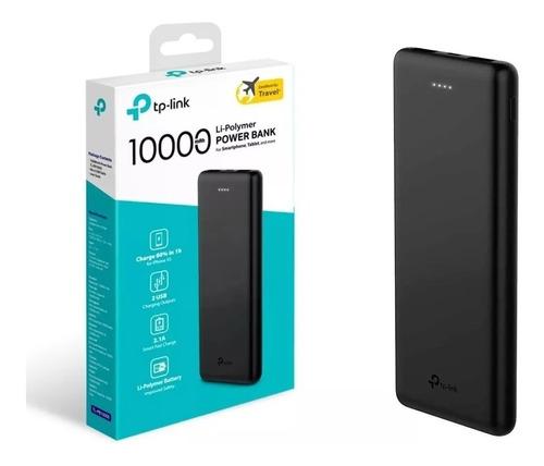 Cargador Power Bank Portátil Tp-link Batería 10000mah 2 Usb