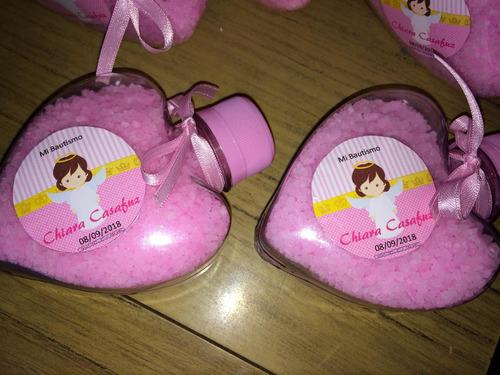 Souvenirs Corazón Nacimientos Baby Shower Cumpleaños Comunio