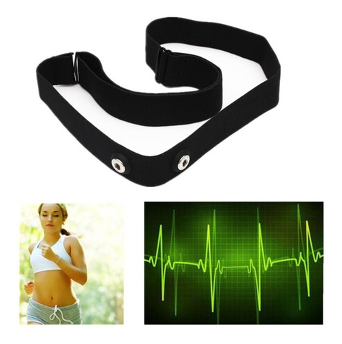 Cinta Monitor Cardíaco Polar Ff7 Ft4 Garmin Edge