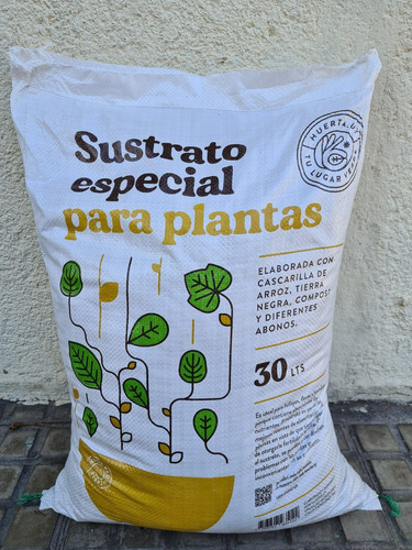 Tierra Sustrato Especial Plantas 30 Litros Bolsa Retornable