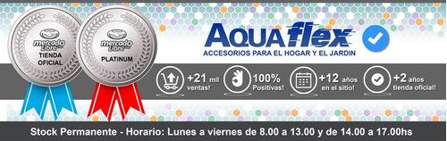 Ducha De Mano Abs Cromado Con Corte Para Bidet 6004 Aquaflex
