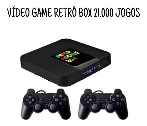 Video Game Retro 21.000 Jogos Antigos + Dois Controles