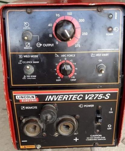 Maquina Soldainvertec V275-slincoln Electric