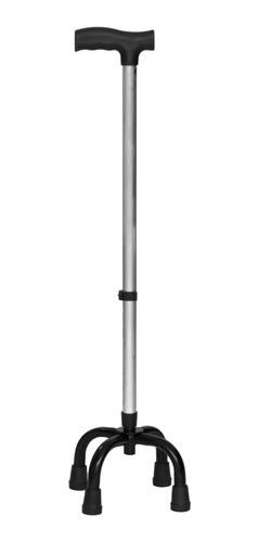 Bastão Bengala Ortopédico 4 Pontas De Alumínio Com Anvisa