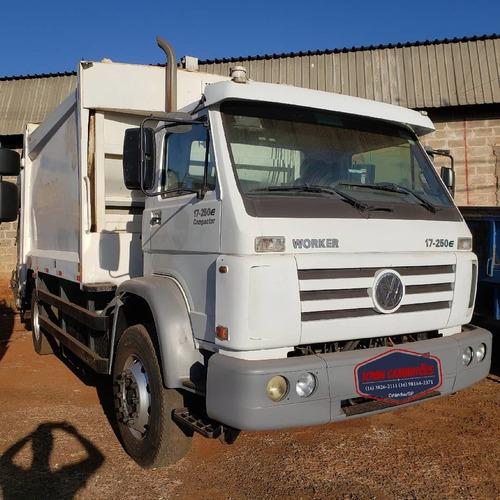 Vw 17-250 Ano 2012 Compactador Lixo