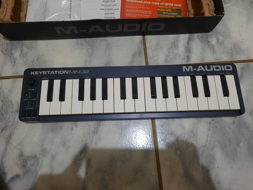 Teclado Mid M Audio Keystation Mini 32