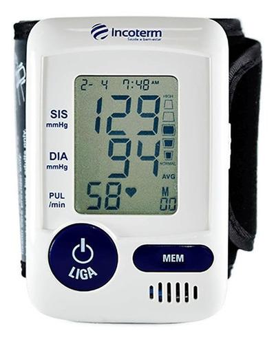 Aparelho Medidor De Pressão Arterial Digital De Pulso Incoterm Mp060