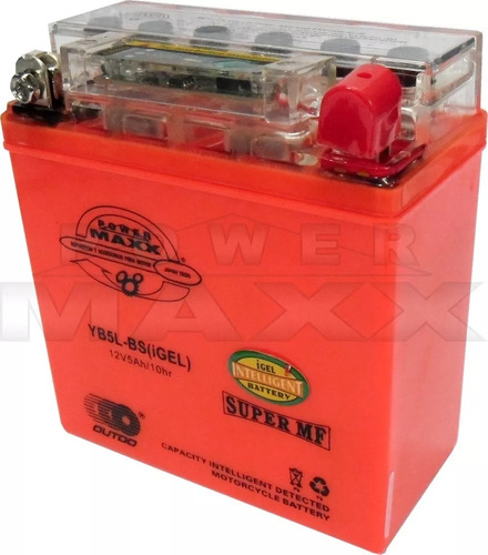 Bateria Gel Yb5 Yamaha(varias)yumbo Baccio Polleritasvarias