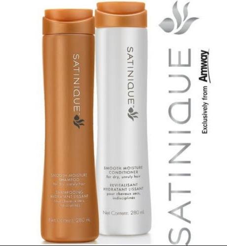 Shampoo E Cond 2 Unidade  Satinique Amway Eua Importado