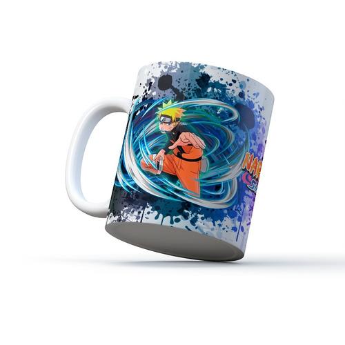 Mug Naruto Shippuden Naruto V Sasuke [envío Gratis]