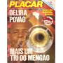 Revista Placar Flamengo Tri Campeão Carioca 1980 C/poster