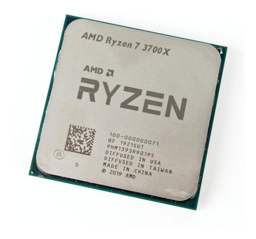Procesador Gamer Amd Ryzen 7 3700x 100-100000071box De 8 Núcleos Y 3.6ghz De Frecuencia