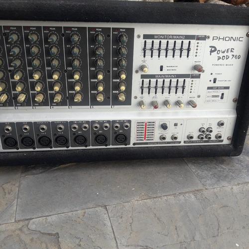 Amplificador Potenciado Phonic 740