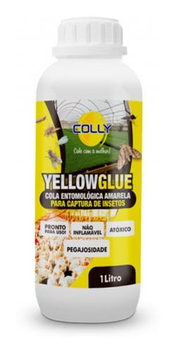 Cola Entomológica Amarela Yellowglue Captura Insetos Colly