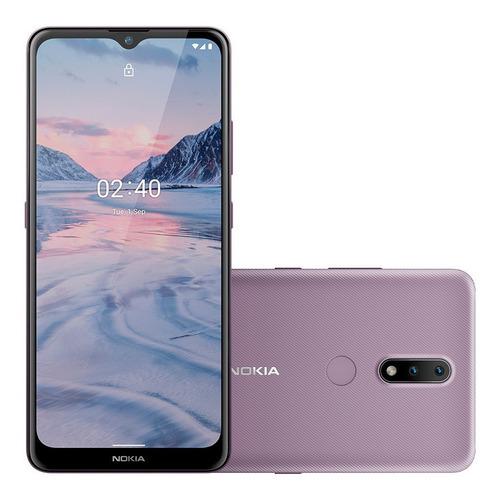 Smartphone Nokia 2.4 Roxo 6,5hd 64gb, 3gb Ram Android 10