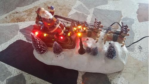 Santa Con Luces, Movimientos Y Música Ideal Para Villas