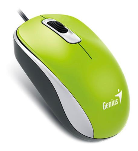 Mouse Genius  Dx-110 Usb Verde Primavera