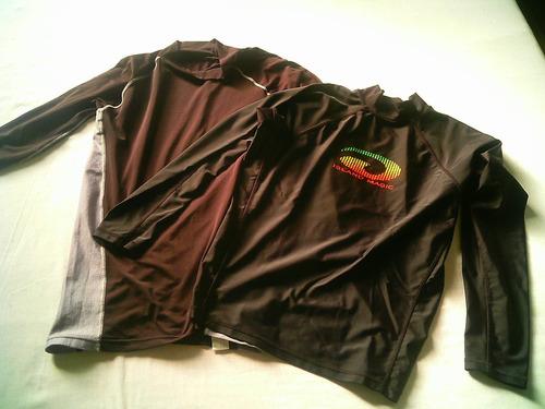 02 Camisas Térmica Rash Guard Para Esportes.