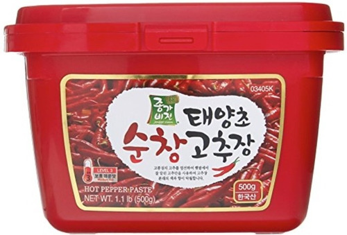 Gochujang Salsa Picante Coreana 500gr - g a $80