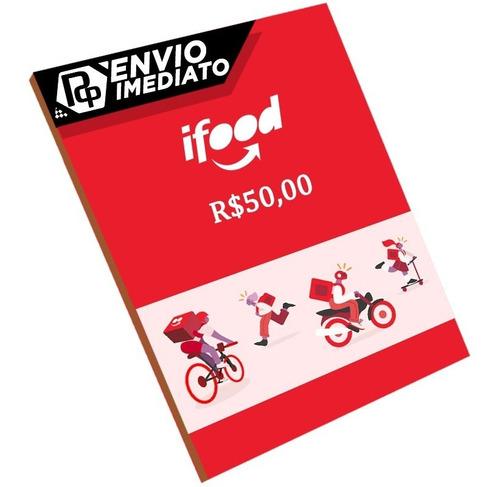 Cartão Ifood R$50
