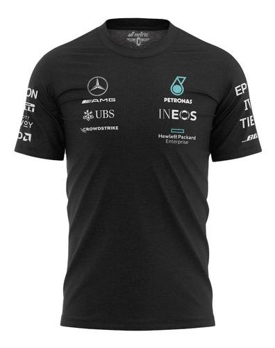 Camiseta Mercedes Amg Petronas Formula 1 F1