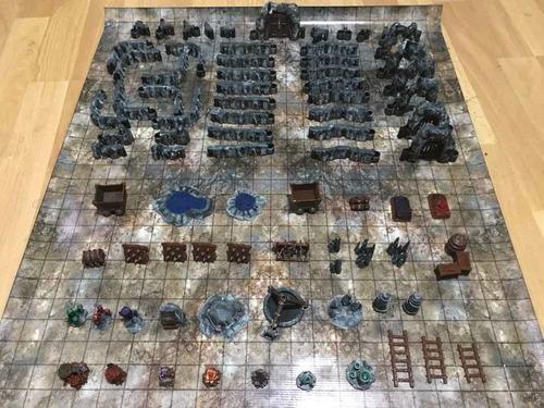 Dungeon Master Starter Kit #2: Caverns - Dm3dminiaturas
